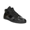 Men's Leather High Top Sneakers bata, black , 844-6644 - 13