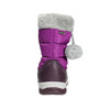 Girls' Snow Boots with Pompoms mini-b, violet , 399-5656 - 17