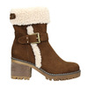 Ladies' Winter Boots with Buckle bata, brown , 699-4637 - 15
