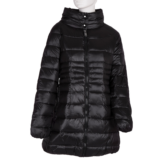 Ladies' quilted jacket bata, black , 979-6166 - 13