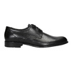 Men's leather Derby shoes conhpol, black , 824-6992 - 26