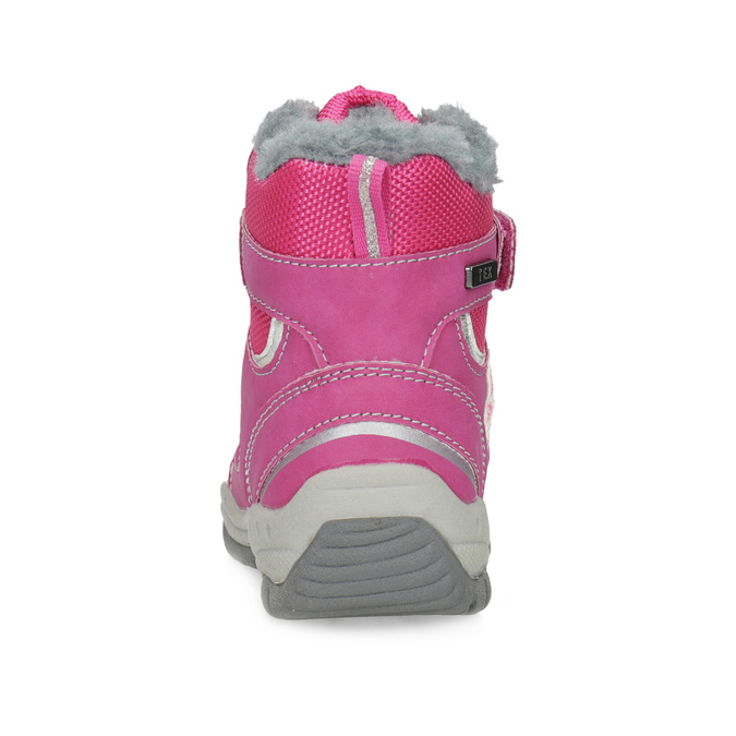 Pink Children's Snow Boots bubblegummer, pink , 199-5602 - 15