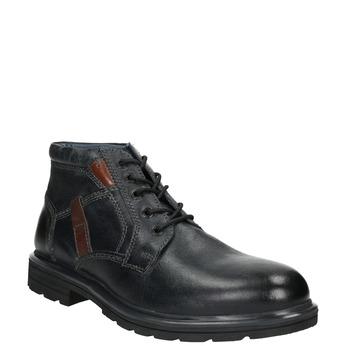 Men's Ankle Boots bata, blue , 896-9682 - 13