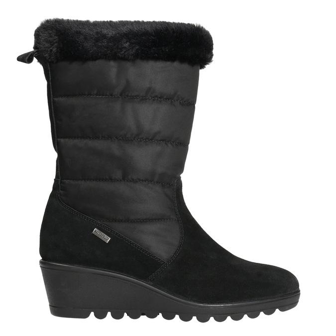 Ladies' Winter Boots comfit, black , 696-6624 - 15