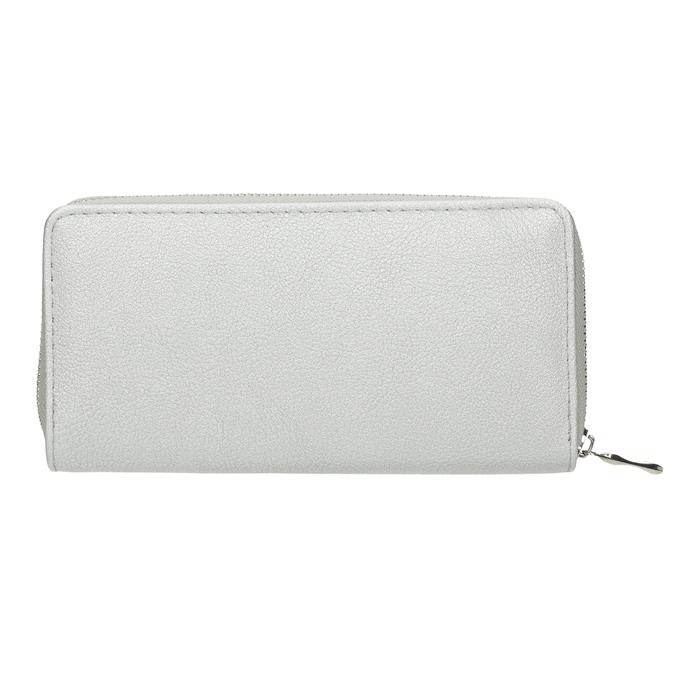 Silver Ladies' Wallet bata, silver , 941-2155 - 16