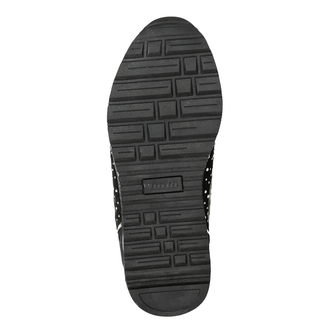 Children's winter boots with rhinestones mini-b, black , 329-6287 - 17
