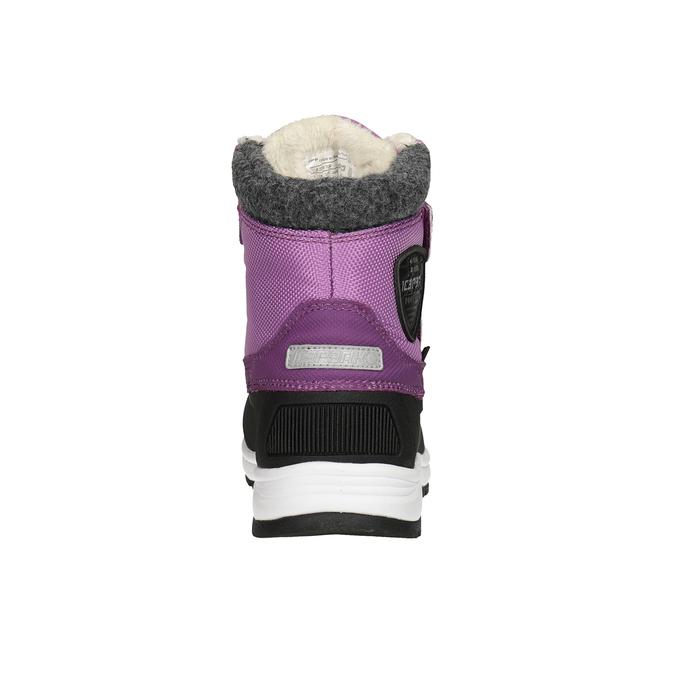 Girls' purple snow boots, violet , 399-5018 - 16