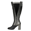 Ladies' Leather High Boots, silver , 796-8027 - 15