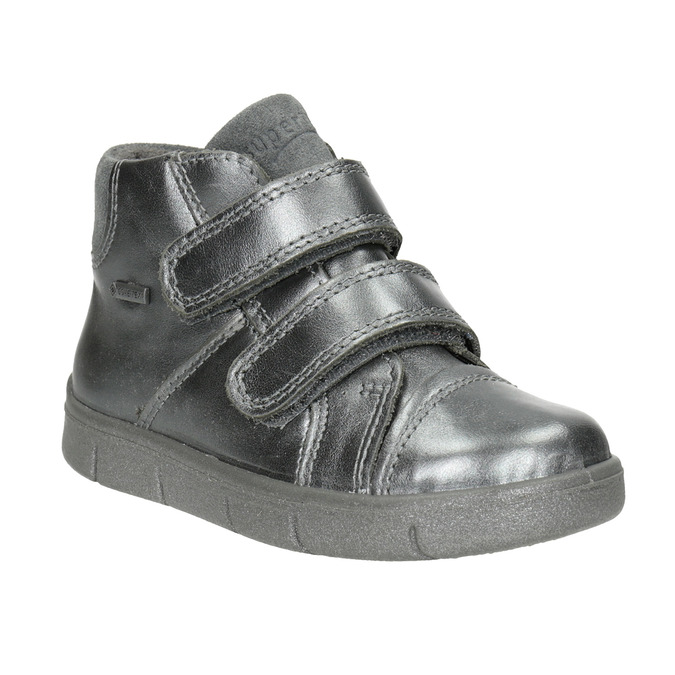 Children's ankle boots superfit, gray , 126-1037 - 13