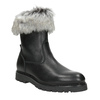 Ladies' Leather High Boots bata, black , 594-6657 - 13