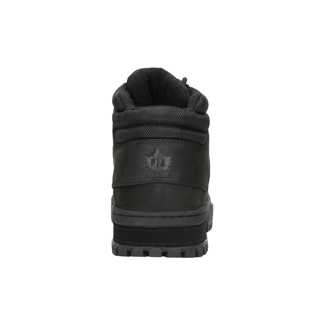 Men's black ankle boots, black , 806-6495 - 16