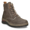 Ladies' Leather Winter Boots weinbrenner, brown , 596-4666 - 13