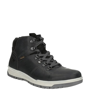 Men's Leather Winter Boots weinbrenner, black , 896-6701 - 13