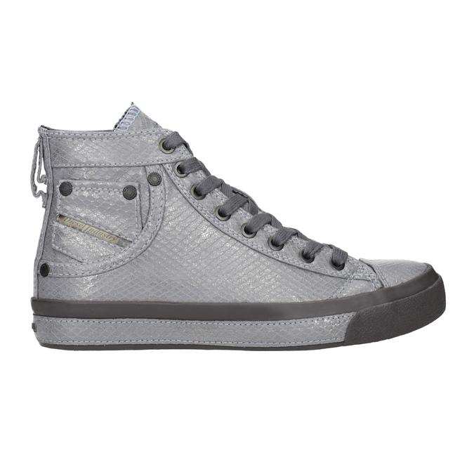 Ladies' ankle sneakers diesel, gray , 501-2743 - 16