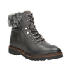 Leather Winter Boots with Fur bata, gray , 594-6650 - 13