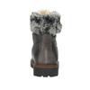 Leather Winter Boots with Fur bata, gray , 594-6650 - 15