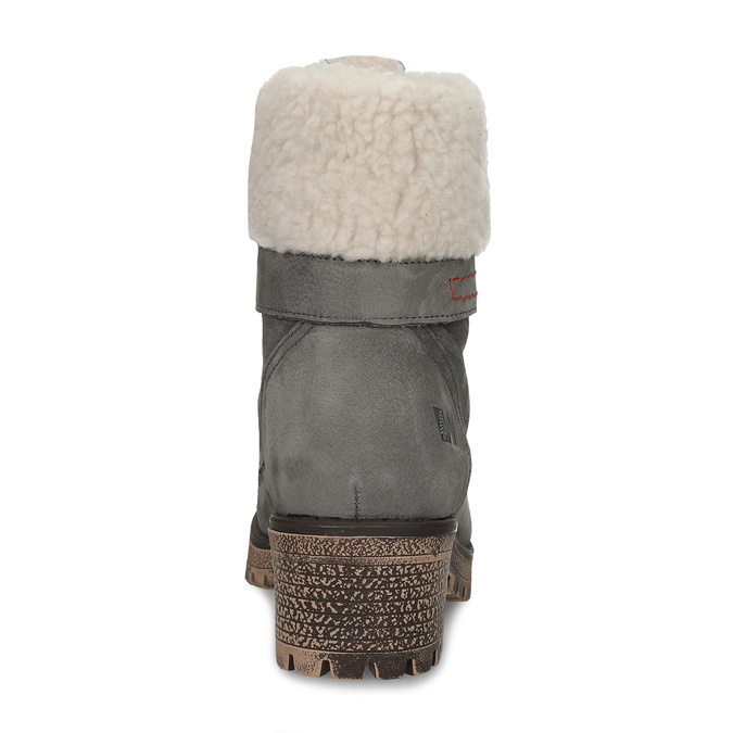 Ladies´ Cossacks with fur, gray , 696-2168 - 15
