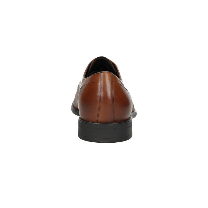 Men's leather shoes vagabond, brown , 824-3026 - 15
