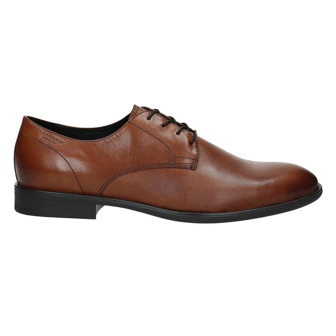 Men's leather shoes vagabond, brown , 824-3026 - 16