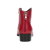 Red high ankle boots bata, red , 594-5665 - 15