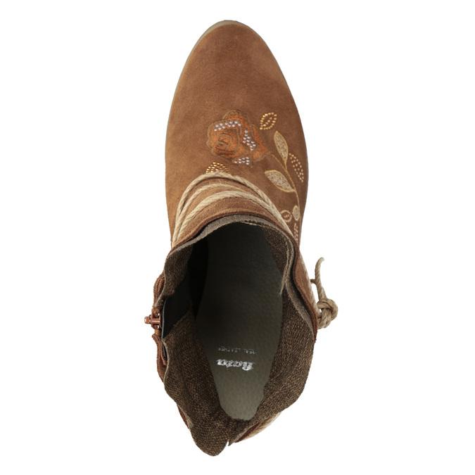 6964655 bata, brown , 696-4655 - 17