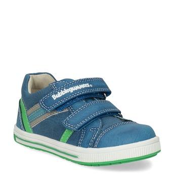 Blue children's casual sneakers bubblegummer, 111-9625 - 13