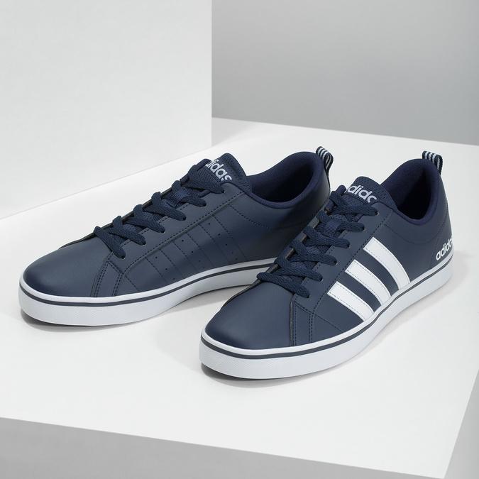 Men's casual sneakers, blue , 801-9136 - 16