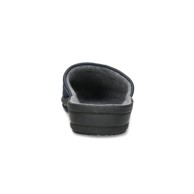 Men's slippers bata, blue , 879-9600 - 15