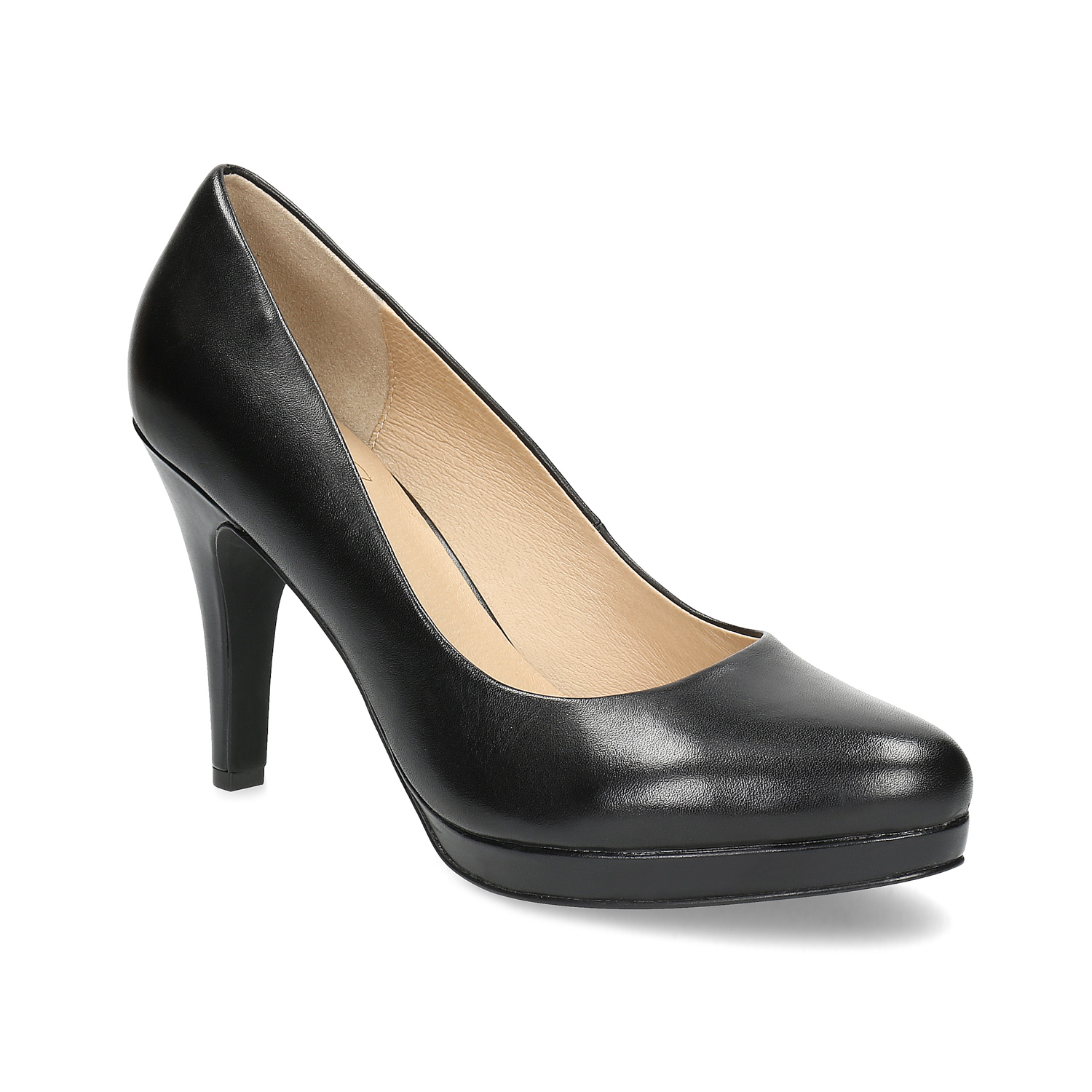 Insolia Black leather pumps - All Shoes