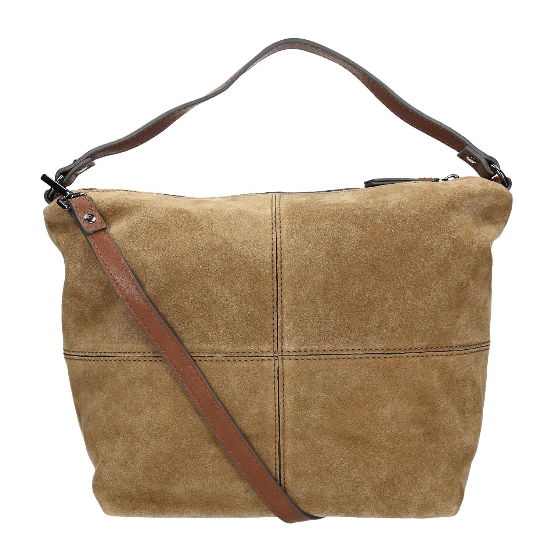 Bata Leather handbag with quilting - Leather Handbags  76dc678633ef1